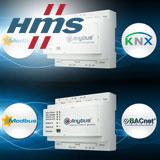 Новые шлюзы Anybus соединяют устройства Modbus с сетями BACnet или KNX